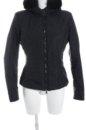 Refrigiwear Winterjacke schwarz Kuschel-Optik