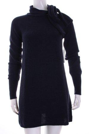 Refrigiwear Wollen trui donkerblauw pluizig