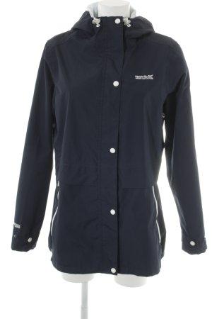 Regatta Outdoor Jacket dark blue-white color blocking navy look