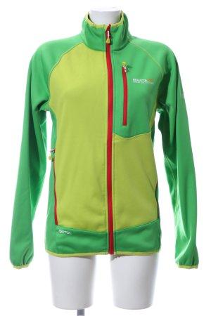 Regatta Outdoor Jacket green printed lettering casual look
