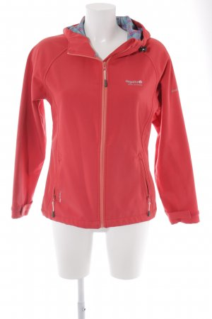 Regatta Outdoorjacke rot-silberfarben Street-Fashion-Look