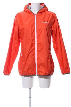 Regatta Raincoat light orange printed lettering casual look