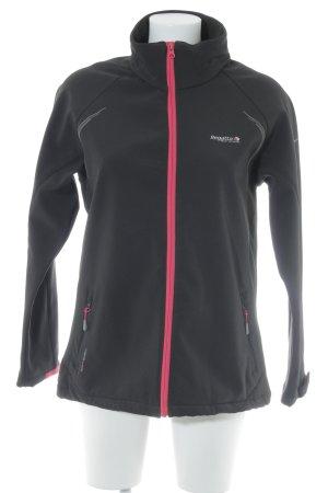 Regatta Softshelljacke schwarz-pink Casual-Look