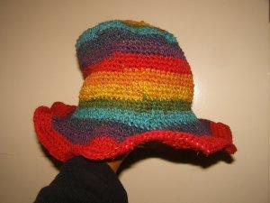 Cappello Panama multicolore Canapa