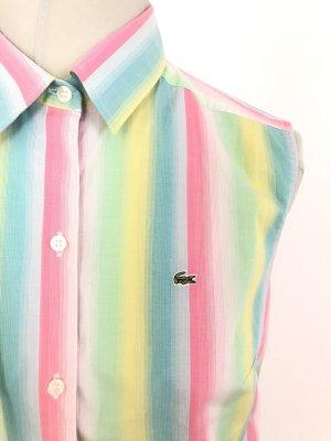 Lacoste Camicia a maniche corte multicolore