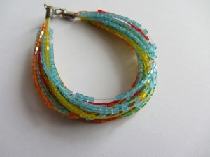 Bracelet multicolored no material specification existing