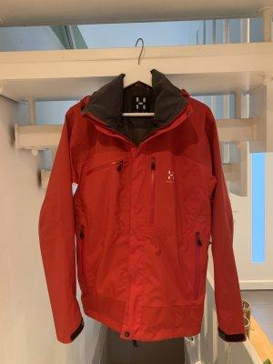 Haglöfs Raincoat red-black