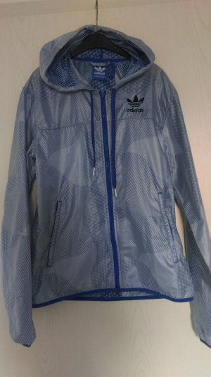 Adidas Regenjas blauw-azuur