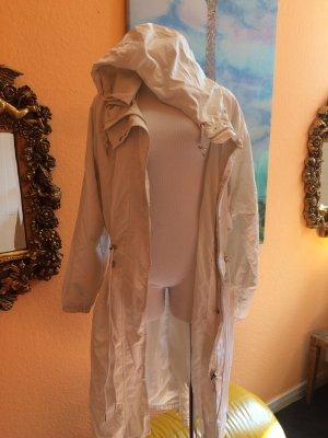 H&M Long Jacket white