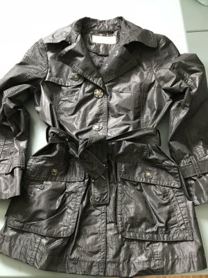 Biba Zware regenjas zwart Polyester