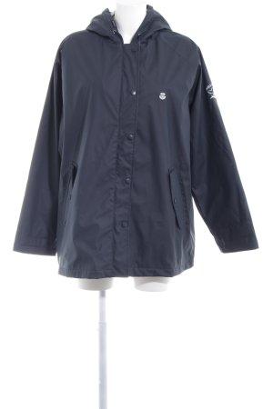 Raincoat dark blue navy look