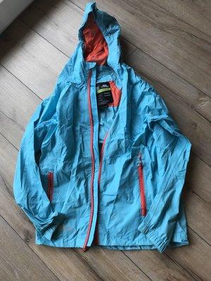 Raincoat light blue-turquoise