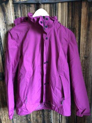 Veste d'extérieur violet polyester