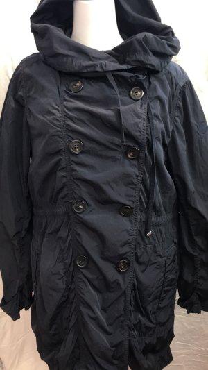 Regenjacke mit eingeknöpfter Daunenweste von Moncler