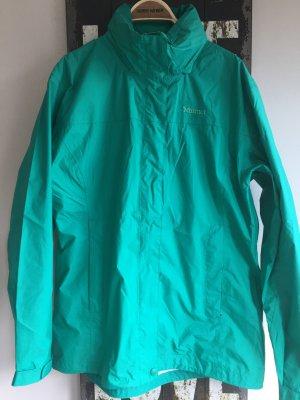 Regenjacke mit Kapuze, Marmot, Gr. XL, wie neu, grün