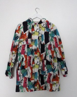 Heavy Raincoat multicolored polyester