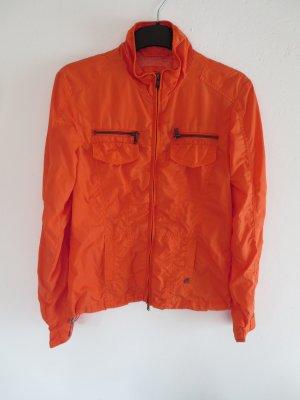 Regenjacke orange Freizeit