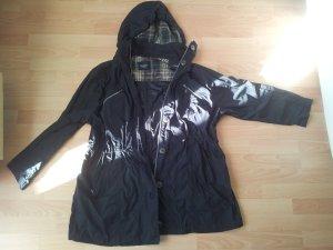 Regenjacke schwarz Gr. 52 Bexleys woman