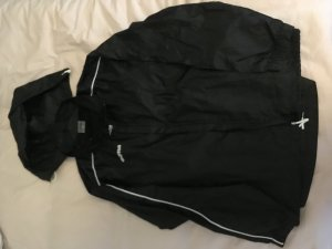 Raincoat black