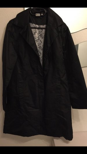 Blue Motion Heavy Raincoat black-white