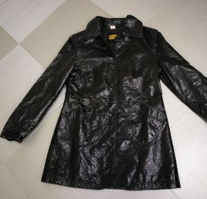 Y.O.U. Heavy Raincoat black polyester