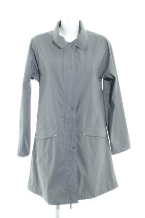 Heavy Raincoat grey casual look