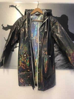 Regenmantel - irisierend