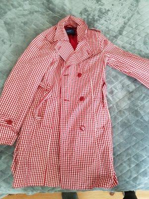 Mexx Manteau de pluie blanc-rouge