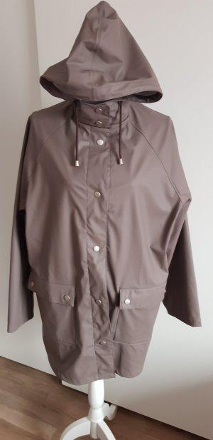 Heavy Raincoat grey brown
