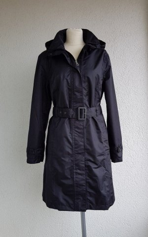 Cecilia Classics Heavy Raincoat black polyester