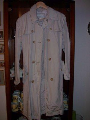 0039 Italy Heavy Raincoat light grey