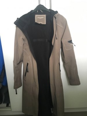Ilse jacobsen Heavy Raincoat grey brown
