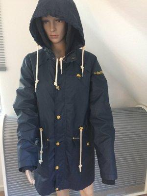 Schmuddelwedda Heavy Raincoat dark blue-grey