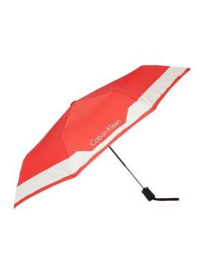 Calvin Klein Parapluie pliant rouge
