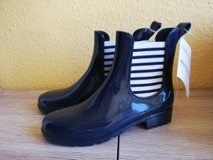 Esmara Botas de agua blanco-azul oscuro