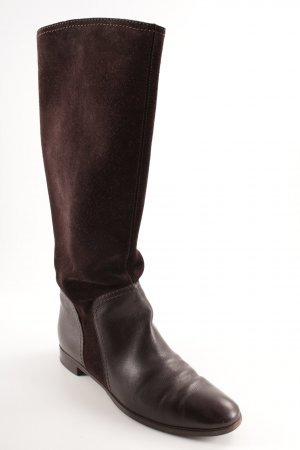 Regent Riding Boots dark brown casual look