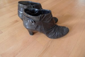 Regent Peep Toe Booties black