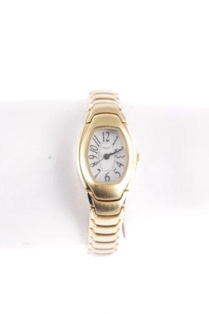 Regent Uhr mit Metallband goldfarben schlichter Stil