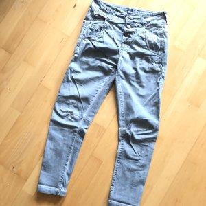 Rehoboth Hose Jeans Gr  XS grau blau Jeans Stoffhose