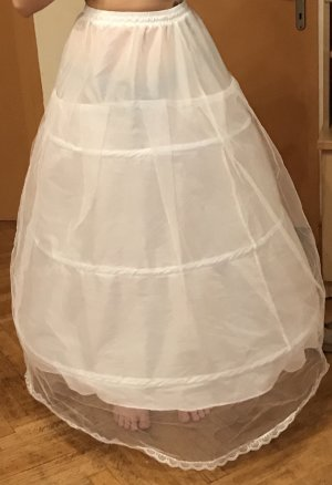 Hoop Skirt white