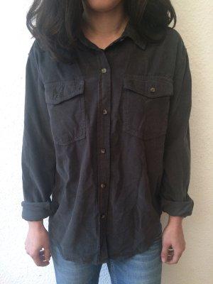 Reiko Cody Velvet Kord-Hemd, Gr. S