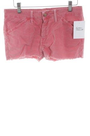 "Reiko Denim Shorts ""short"" bright red"