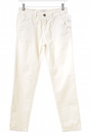 Reiko Straight-Leg Jeans hellgelb Casual-Look
