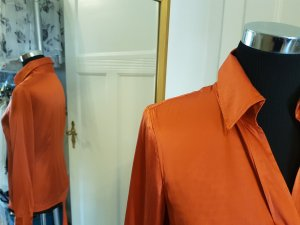 Apart Bodysuit Blouse orange