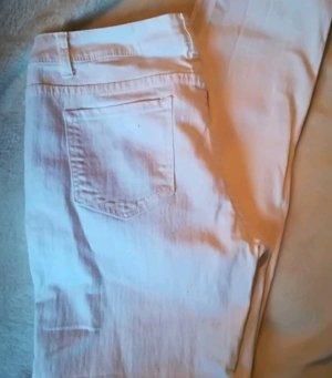 Reinweiße Jeans