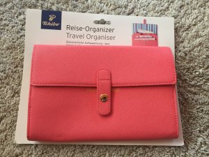 Reise Organizer in corall rot