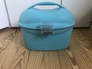 Suitcase light blue-turquoise