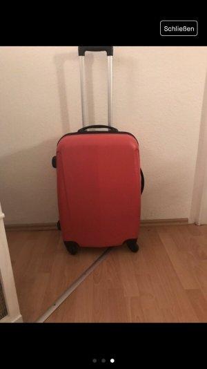 Reisekoffer in pink Hartschale