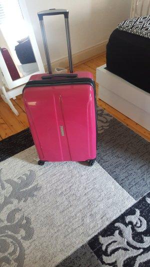 Reisekoffer in Pink zu verkaufen