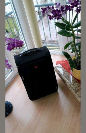 Koffer zwart-grijs